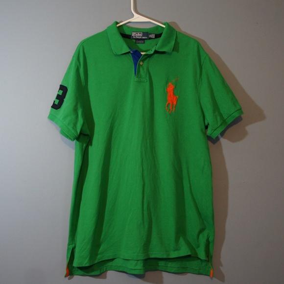 dd3a25811 Polo by Ralph Lauren Shirts | Ralph Lauren Big Logo Polo Short ...